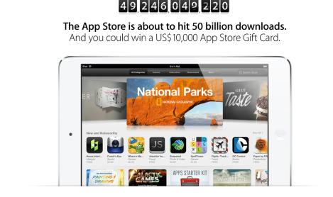 50 billion app store