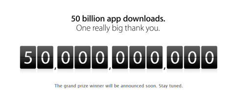 apple 50 billion downloads