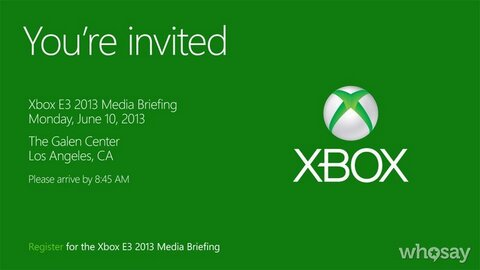 Invitation For Media Briefing XBOX Sentwill Give Tickets